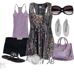 Casual summer, created by amandabeaulieu on Polyvore