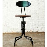 $396 // Found it at AllModern - V19R Dining Stool with Backrest