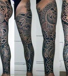 40 Celtic Sleeve Tattoo Designs For Men