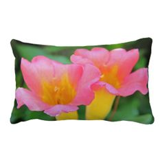 Garden Snuggle ~ Lumbar Throw Pillow.  See more awesome gift ideas at www.zazzle.com/wheresqtraveldreams*