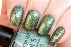 Serum No5 Twilight Sparks stamped with Moyou Sci-fi plate 05
