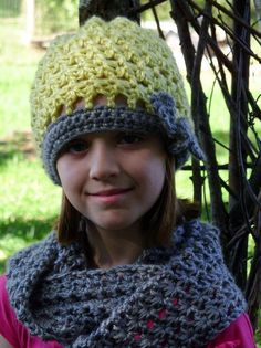 (4) Name: 'Crocheting : Starlette Hat also has a matching infinity scarf as a separate pattern download