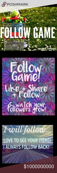 ALMOST THERE! FOLLOW GAME! Follow game! Follow, like, share! I always follow back Dresses