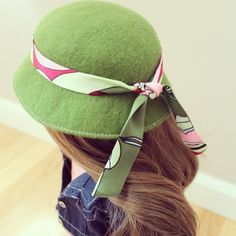 See how to make this cute felt hat #americangirldoll #agig #millinery