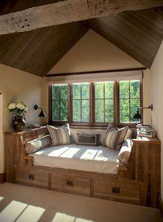 Warm and Cozy Rustic Bedroom Decorating Ideas 35