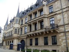 The Grand Ducal Palace- Official Residence of the Grand Duchy of Luxembourg.