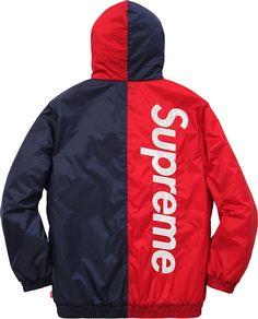 Supreme 2-Tone Hooded Sideline Jacket