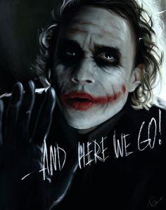 Joker by ~MaryRiotJane