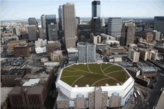 Project of the Week: Target Center Arena by Kestrel Design Group, Sika Sarnafil, rooflite, Tecta America, Green Roof Service, Bonar, Sempergreen & more...; Photo Courtesy of The Kestrel Design Group