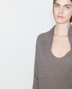 FINE KNIT SWEATER from Zara