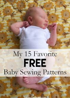 I want to talk about some free baby sewing patterns that I love. I have used all of these and recommend each of them! These are the best baby sewing patterns! Which is your favorite free baby sewing p Baby Sewing Tutorials, Boys Sewing Patterns, Free Baby Patterns, Baby Sewing Projects, Sewing Projects For Beginners, Sewing For Kids, Free Sewing, Sewing Tips, Sewing Hacks