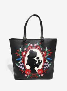 2e8cf5fb7f New Loungefly Disney Beauty and the Beast Belle Embroidered Bag Tote