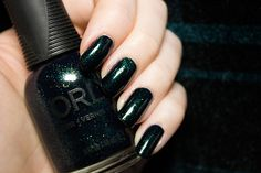 ORLY Smoked Out | Beauty Aesthetic: UK/Scottish Makeup and Beauty Blog #review #nails #nailart