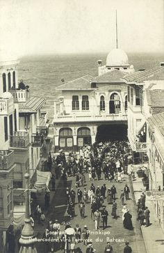 ✿ ❤ Perihan ❤ ✿ Bir Zamanlar İSTANBUL...Büyükada iskelesi 1925.
