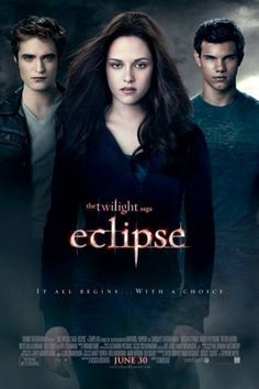 Twilight - Eclipse movie. Third one in the saga.   It's better than the first two, because it has more action and fight scenes, but it still has fantasy and romance.  Great movie, 8/10