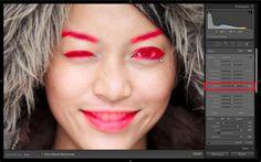 Portrait processing in Lightroom