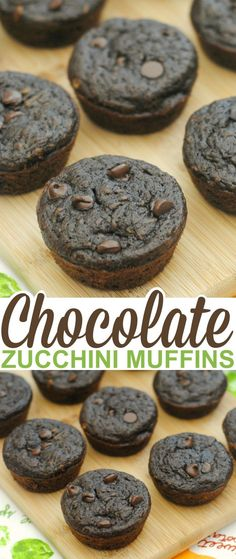 These homemade chocolate zucchini muffins are as delicious as they are healthy and oh, so easy to make. I also love that my children don't realize they even have veggies in them and always ask for seconds. They think they are brownie muffins so it's a win-win for me.