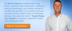 "One of the BEST natural health doctors in the country! I worked for him when I lived in GA. Maximized Living Doc and writer for naturalnews.com . Where I learned all my ""natural health tips"". super genuine guy! Dr. David Jockers or Dr. D! Pin and subscribe to his WEEKLY newsletters."
