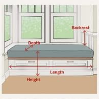 A home may not always be complete without a bay window seat. Whether it is a house or an apartment, you can have at least one. Make sure that these bay window seats are suitable for the whole conce… Bedroom Windows, Bay Windows, Window Seats Bedroom, Bedroom Seating, Bedroom Window Design, Built Ins, Home Projects, Diy Furniture, Furniture Stores