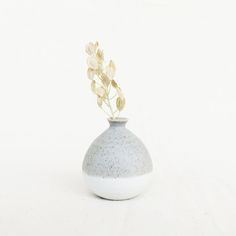 Mini Vase 5 cm - Pastel Grey, oh! Pastel Grey, Dried Flowers, Vase, Texture, Mini, Handmade, Gifts, Color, Design