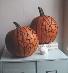 Fun idea for decorating pumpkins from @Better Homes and Gardens
