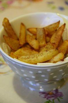 Patatine fritte perfette: tutti i segreti Fried #potatoes