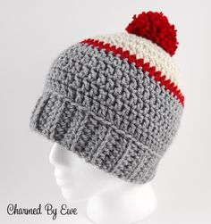 Ice Fishing Beanie: FREE Crochet Pattern