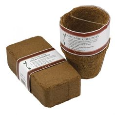 Coir Block and 5 Planters