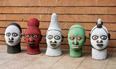 decorated heads - Google Search