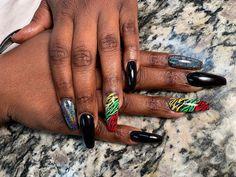 Neon Nail Art, Floral Nail Art, Neon Nails, Seashell Nails, Palm Tree Nail Art, Fruit Nail Art, Butterfly Nail Art, Pink Glitter Nails, Space Nails