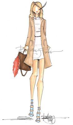 Brittany Fuson fashion sketch Ballet Fashion, Fashion Flats, Women's Fashion Dresses, Fashion Dolls, Fashion Illustration Sketches, Fashion Sketchbook, Fashion Sketches, Paper Fashion, Fashion Wall Art