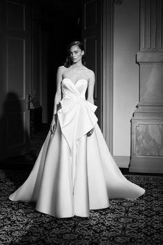Lovely Dresses, Bridal Collection, Fashion News, One Shoulder Wedding Dress, Luxury Fashion, Glamour, Elegant, Wedding Dresses, Spring