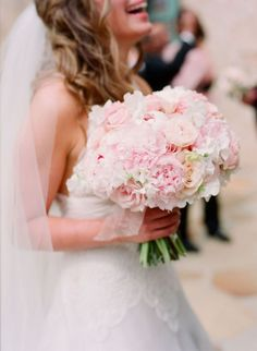 Pink Bridal Bouquet reception wedding flowers,  wedding decor, wedding flower centerpiece, wedding flower arrangement, add pic source on comment and we will update it. www.myfloweraffair.com can create this beautiful wedding flower look.