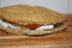 euacozinhar: Pão de aveia e linhaça com oregãos no microondas