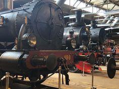 Speed demons of their era #steamengine #railroad #snälltåg #tåghallen @jarnvagsmuseet #travel #ttot #gävle #sweden #photobydavidfeldt