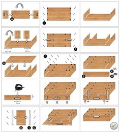 DIY building instructions - the clever and inexpensive camping box for DIY Bauanleitung – Die clevere und preiswerte Campingbox zum Stecken! DIY building instructions – the clever and inexpensive camping box to plug in! Minivan Camping, Trailers Camping, Truck Camping, Minivan Camper Conversion, Suv Camper, Mini Camper, Camping Diy, Camping Gear, Camping Hacks