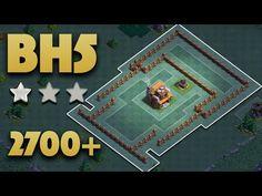 Best Builder Hall 5 Base Bh5 Pushing 2700 Builder Base 5 No Battle Machine Clash Of Clans Youtube Clash Of Clans Battle Builder