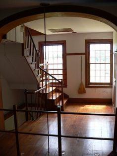 Hancock Shaker Village staircase