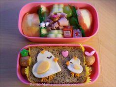 Bento-Mania.....verrückt nach der japanischen Lunch Box: Bento: Aus Herzen werden Henne und Küken!