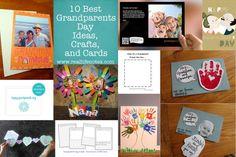 10 Best Grandparents Day Ideas, Cards, & Grandparents Day Crafts. #freeprintables