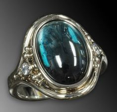 Hey, I found this really awesome Etsy listing at https://www.etsy.com/listing/109549790/14k-white-gold-indicolite-tourmaline-and