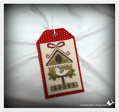 SF_CCN Birdhouse Ornament | by The Twisted Stitcher