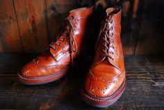 Tricker's Country boots Commondsole&heel   BRASS BLOG