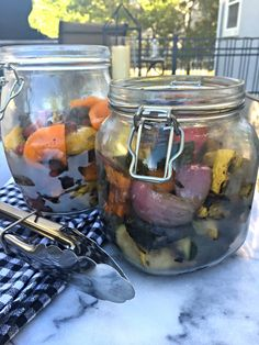 Make dinner in just minutes with this grilled vegetable mix!
