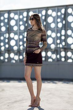 Kobieca, oryginalna sukienka.Propozycja dla pań ceniących niebanalny design.JAP #fashion #moda