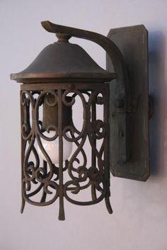 vintage garden lights | Light, Antique Outdoor Lighting, Antique and Spanish Revival Lighting ...