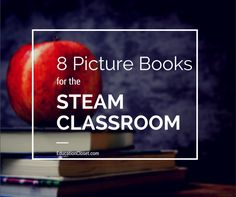 Wow - not only are these great books, but she includes STEAM lesson ideas to go along with each book!