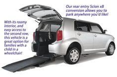 The Scion xB Wheelchair & Handicap Accessible Car Conversion. Great wheelchair van alternative.