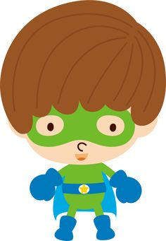 Super Heróis - Minus Superhero Clipart, Superhero Party, Big Hero 6, Spiderman Chibi, Hello Kitty, Super Hero Shirts, Door Crafts, Cute Clipart, Paper Dolls