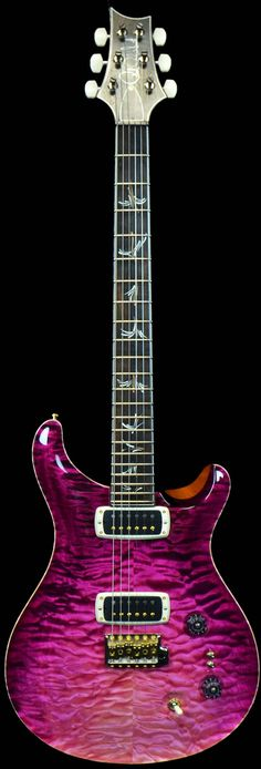 Wild West Guitars : PRS Private Stock #4386 Paul's Guitar Limited Run Raspberry Dragon's Breath 27 of 50